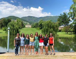 Gli studenti della Auburn University a Lucca